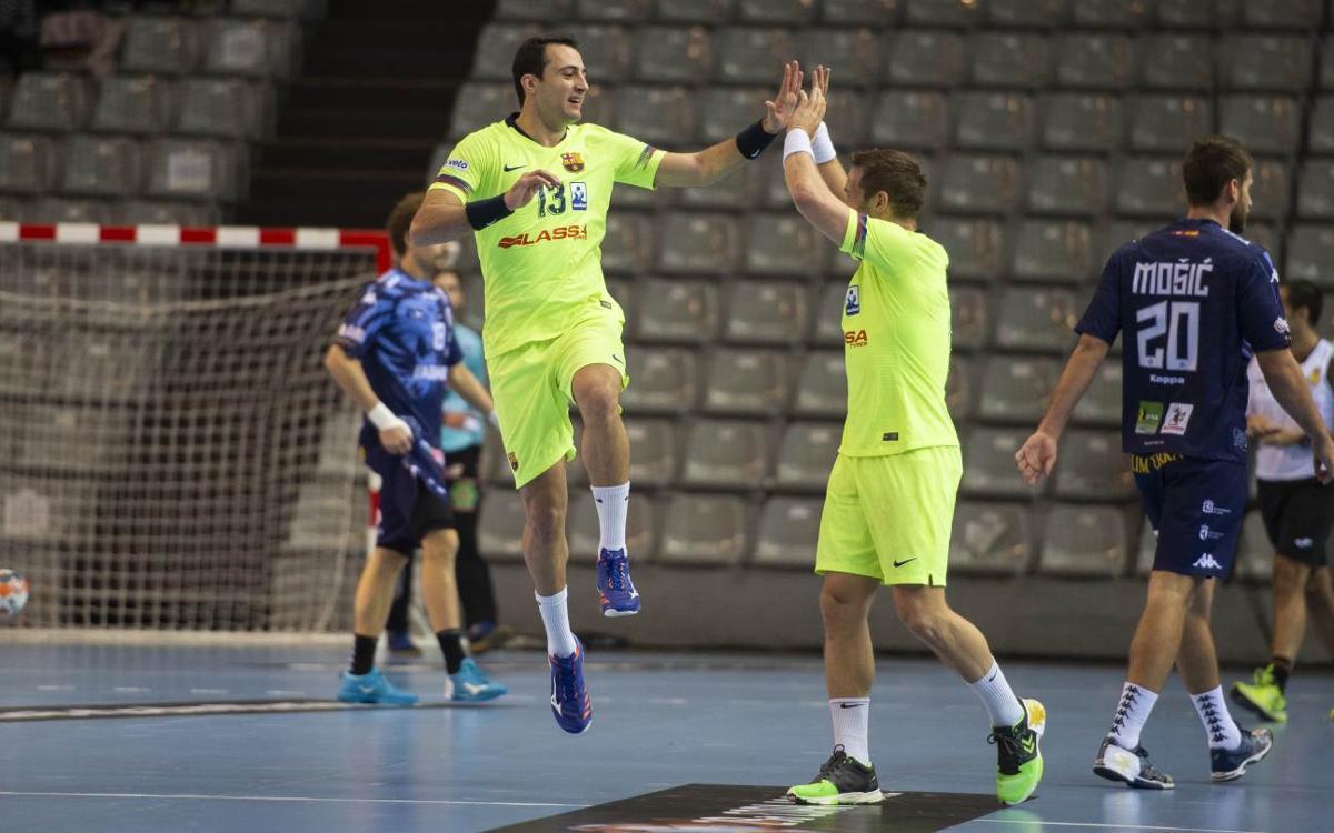Barça Lassa – ABANCA Ademar León: Into the finall! (28-21)