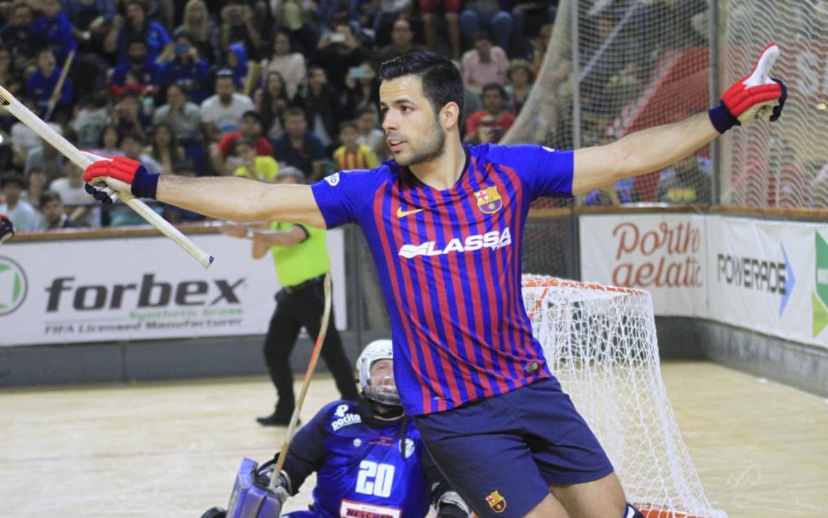 Barça Lassa - Concepción PC: Exhibición azulgrana en el Aldo Cantoni (7-2)