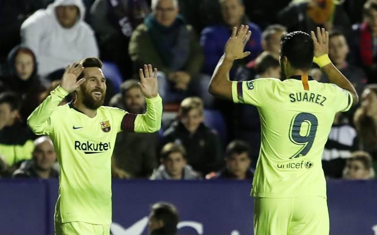 Levante - Barça : Chapeau ! (0-5)