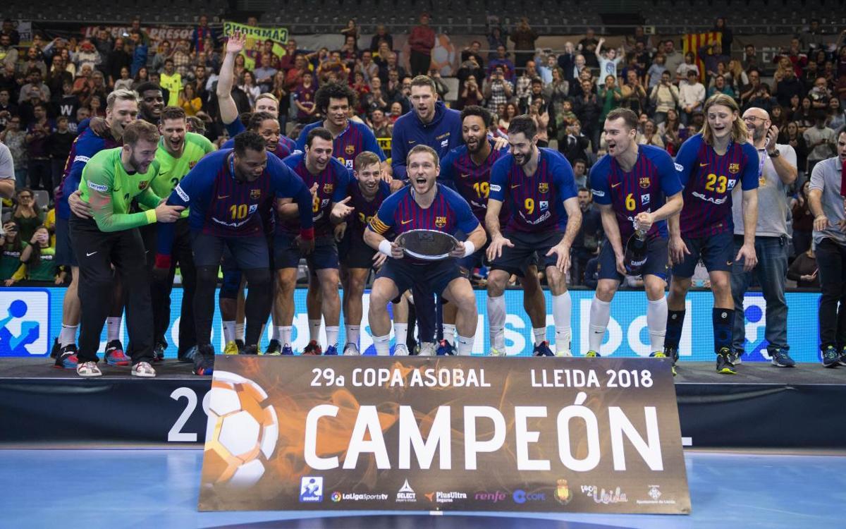 Vuitena Copa Asobal consecutiva!