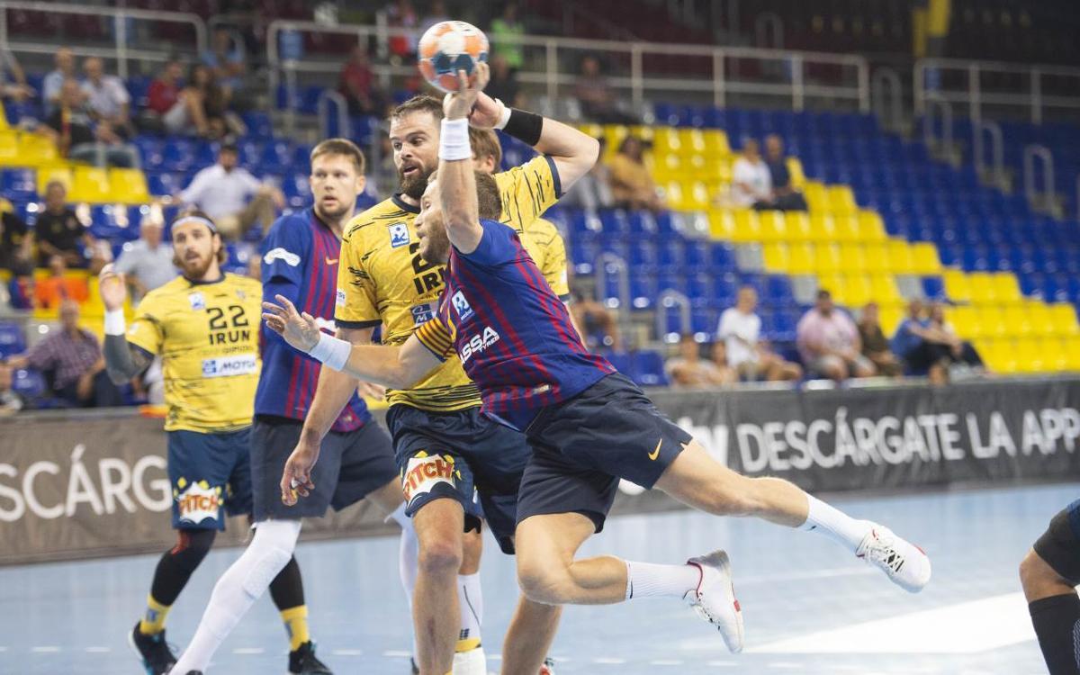 Bidasoa Irún – Barça Lassa: Últim esforç amb el títol en joc