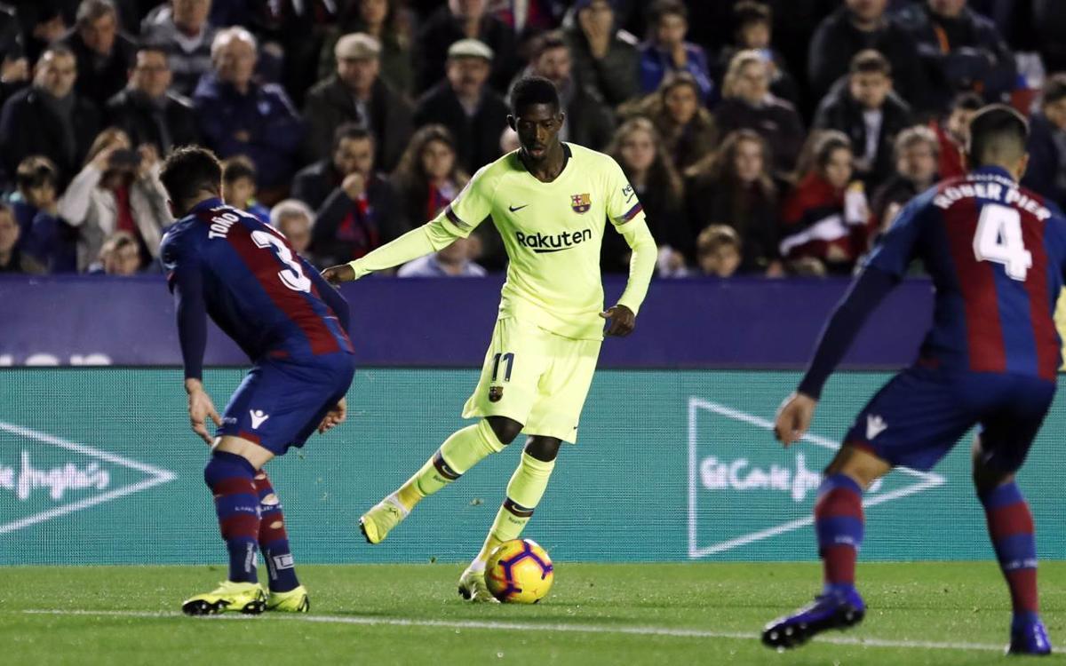 マッチプレビュー:レバンテ-FC バルセロナ