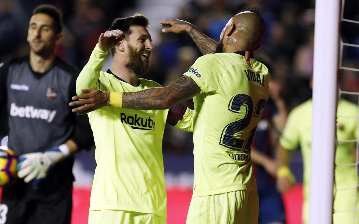 Leo Messi llega a los 50 goles en 2018