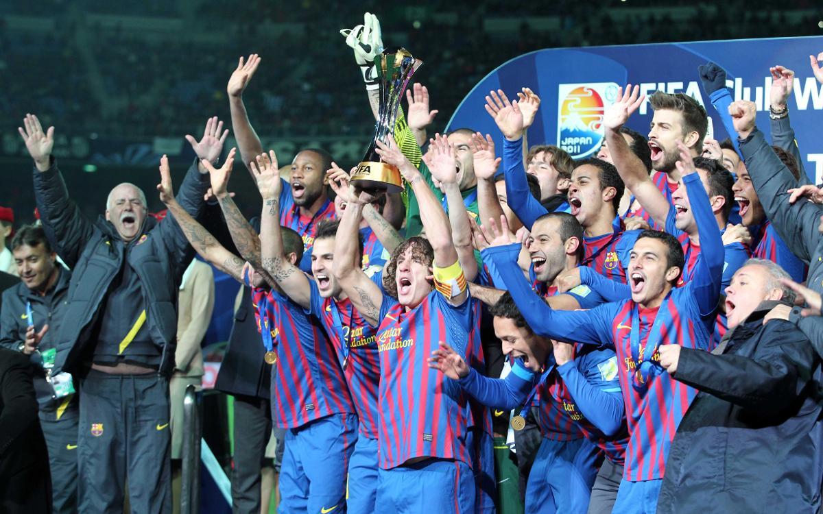 7年前、歴史的な二度目のクラブワールドカップ