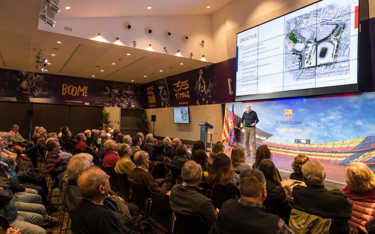 La Agrupación Barça Jugadores tendrá presencia en el Espai Barça