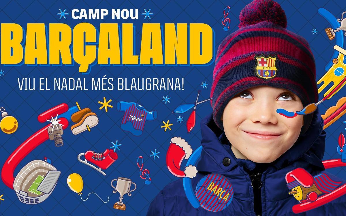 Vive una experiencia 100% azulgrana en Barçaland