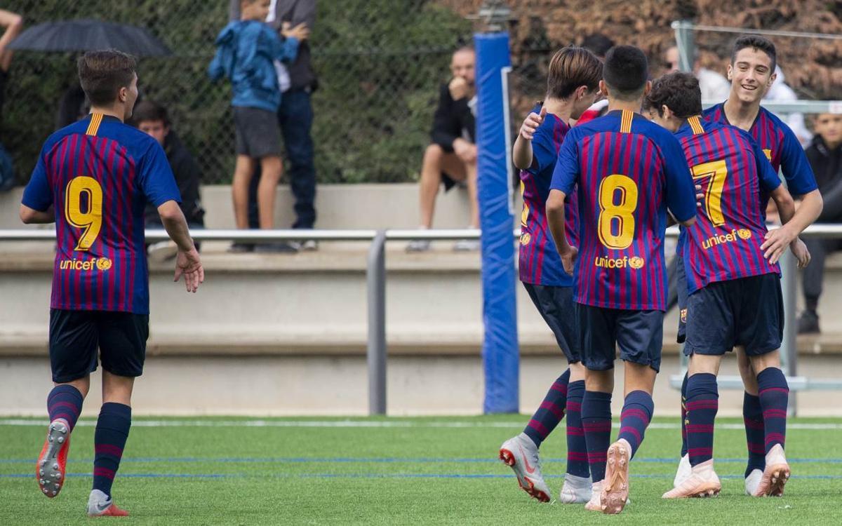 TOP-5: Los mejores goles de la cantera azulgrana