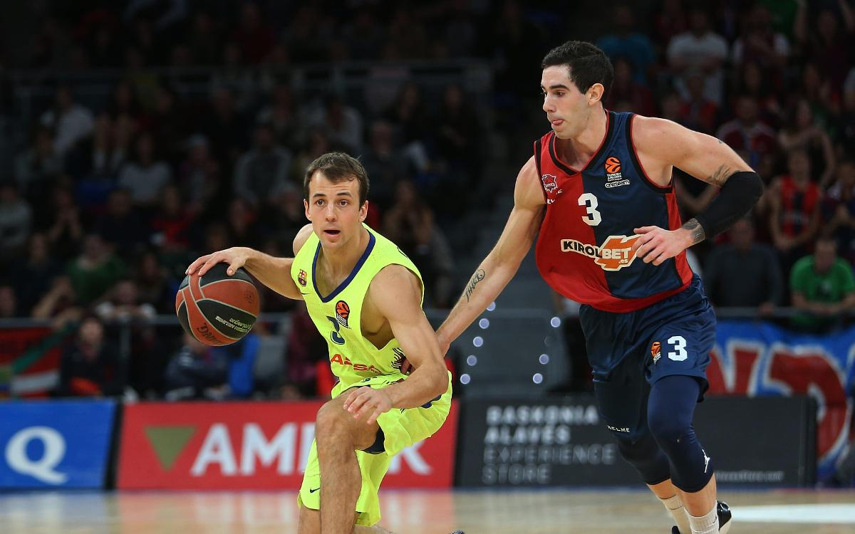 Kirolbet Baskonia 70-77 Barça Lassa: Great cup win in Vitoria
