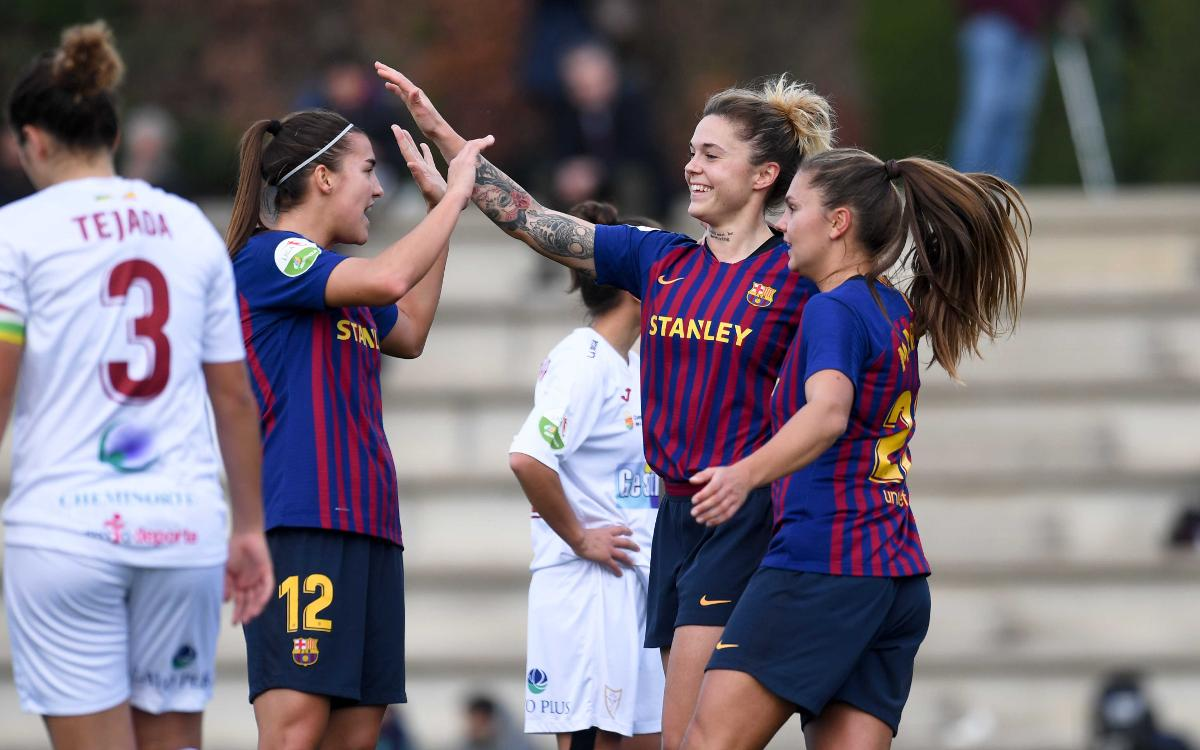 Málaga CF - FC Barcelona Femenino (previa): Final de vuelta y de año en Málaga