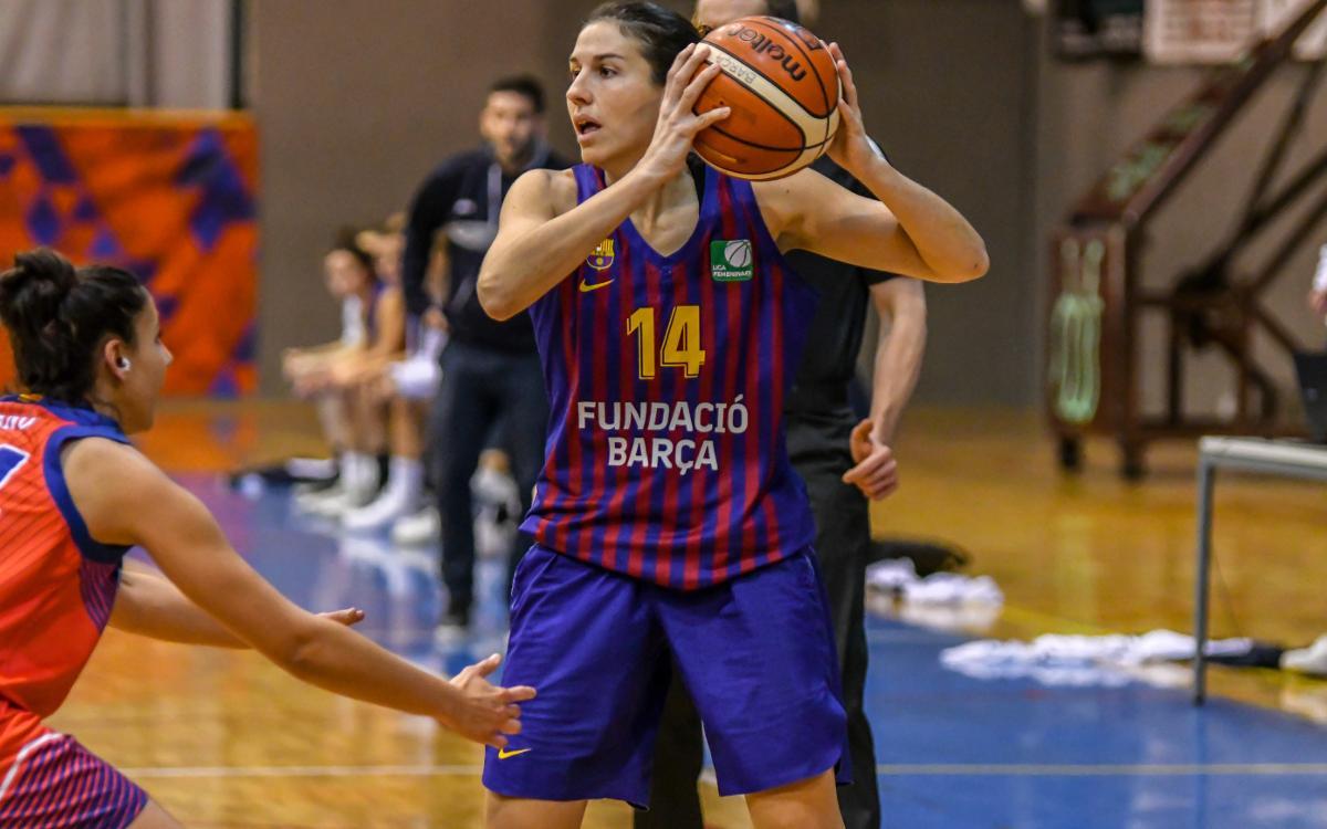 Barça Baloncesto Femenino - Lima-Horta