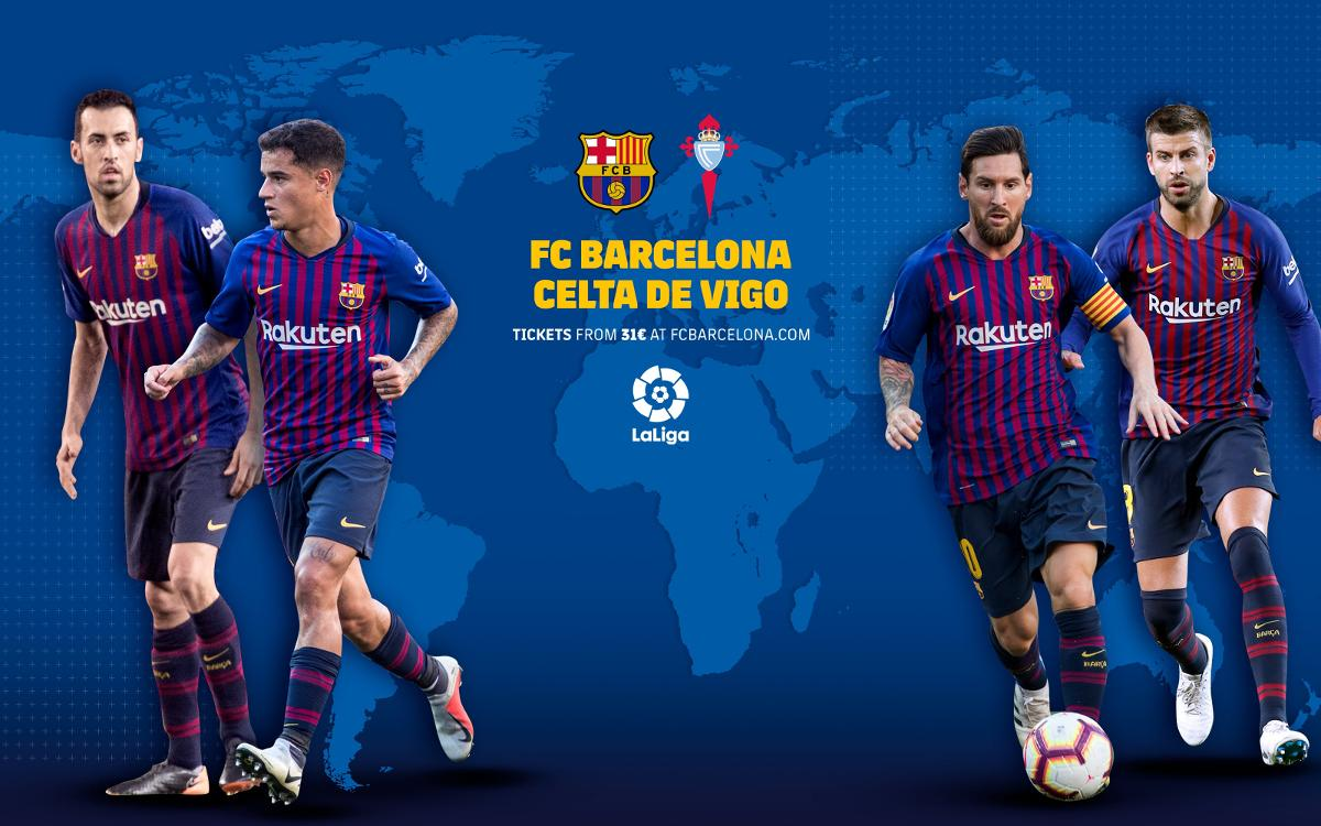When and where to watch FC Barcelona – Celta
