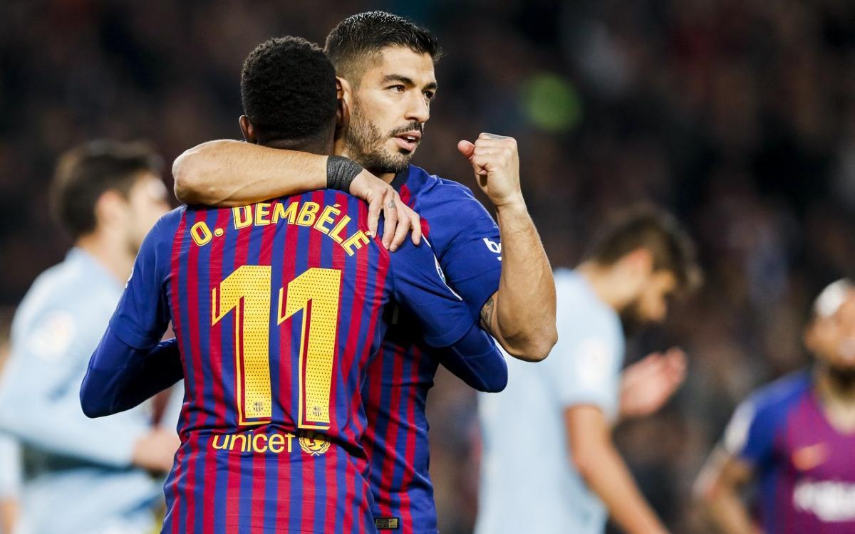 Barça 2 – 0 Celta: Holiday Joy