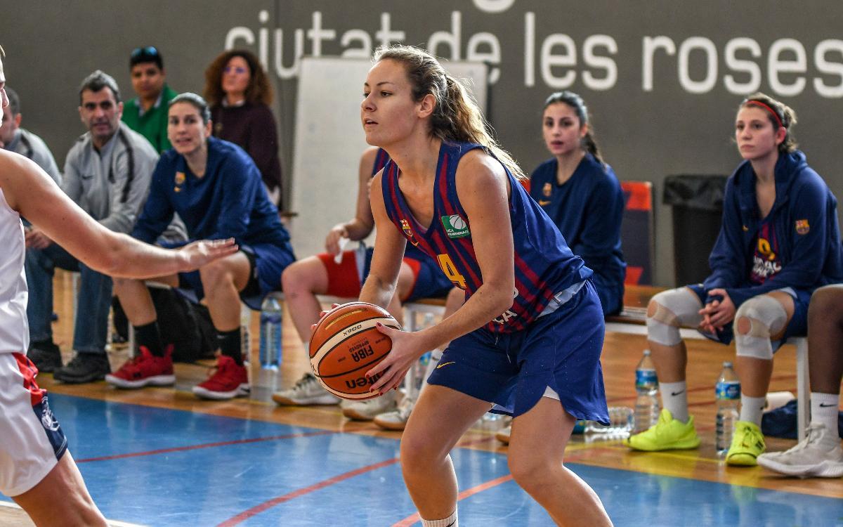 El Barça de bàsquet femení acomiada l'any amb victòria