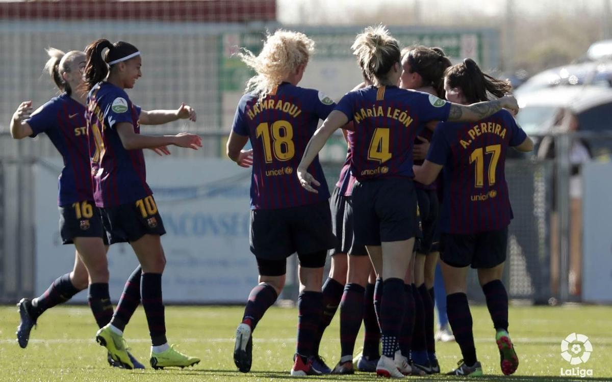 Málaga FC – FC Barcelona Femenino: Séptima victoria consecutiva (0-4)
