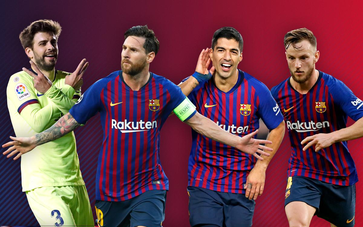 FC Barcelona's 2018 in numbers