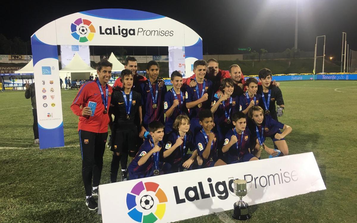 El Barça defiende el título en LaLiga Promises Internacional