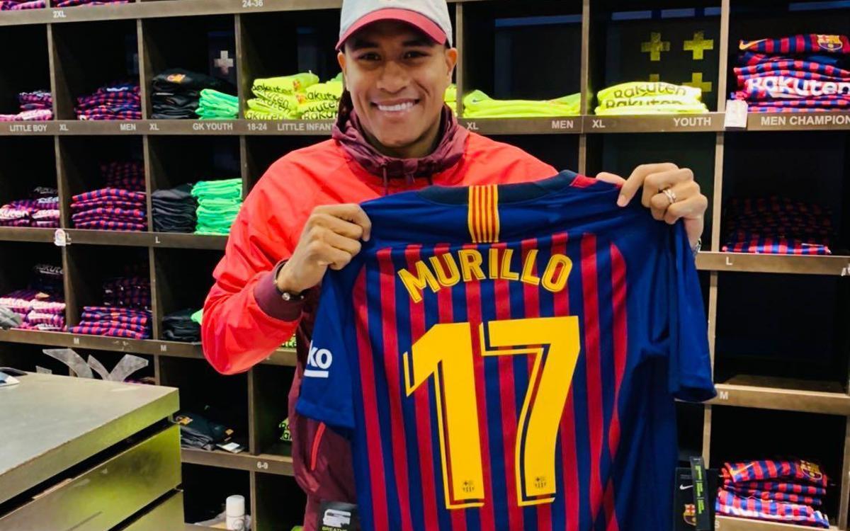Murillo portera le numéro 17