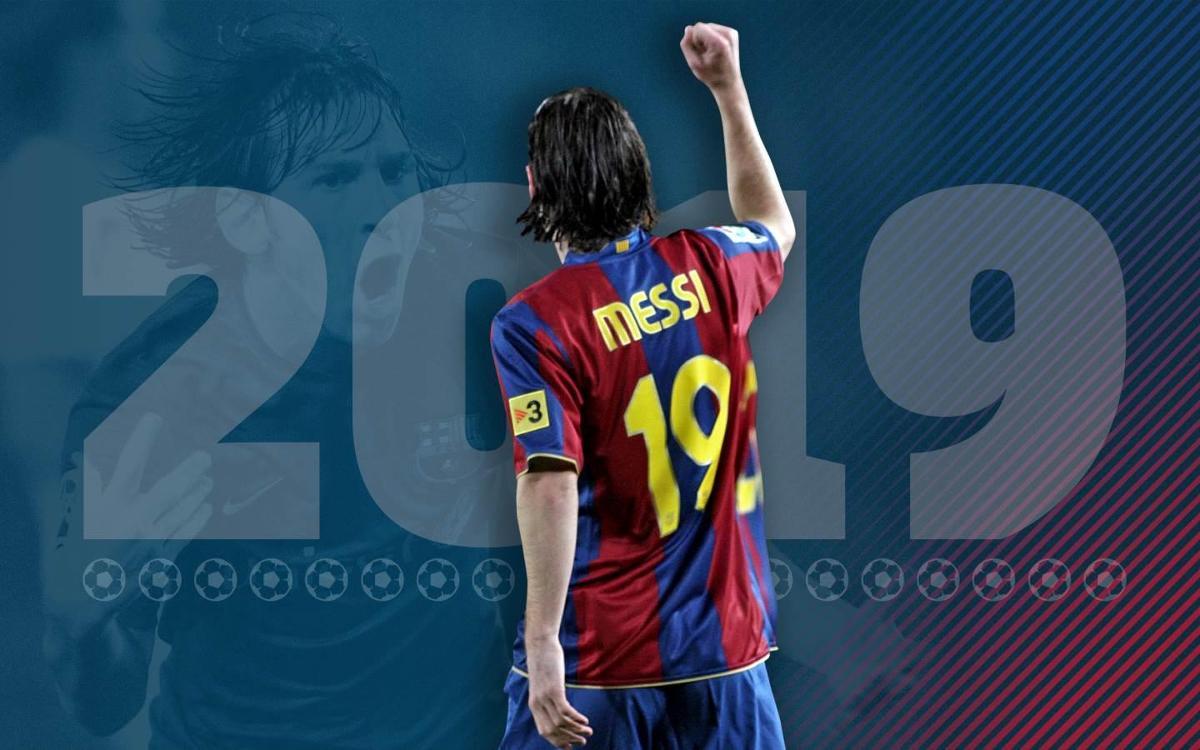 Messi's 19 best goals wearing 19