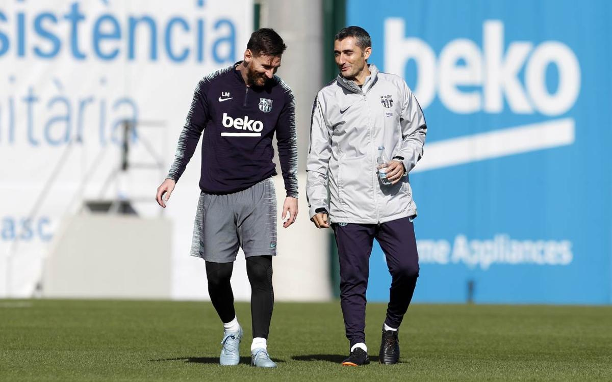 Valverde names Messi's finest asset