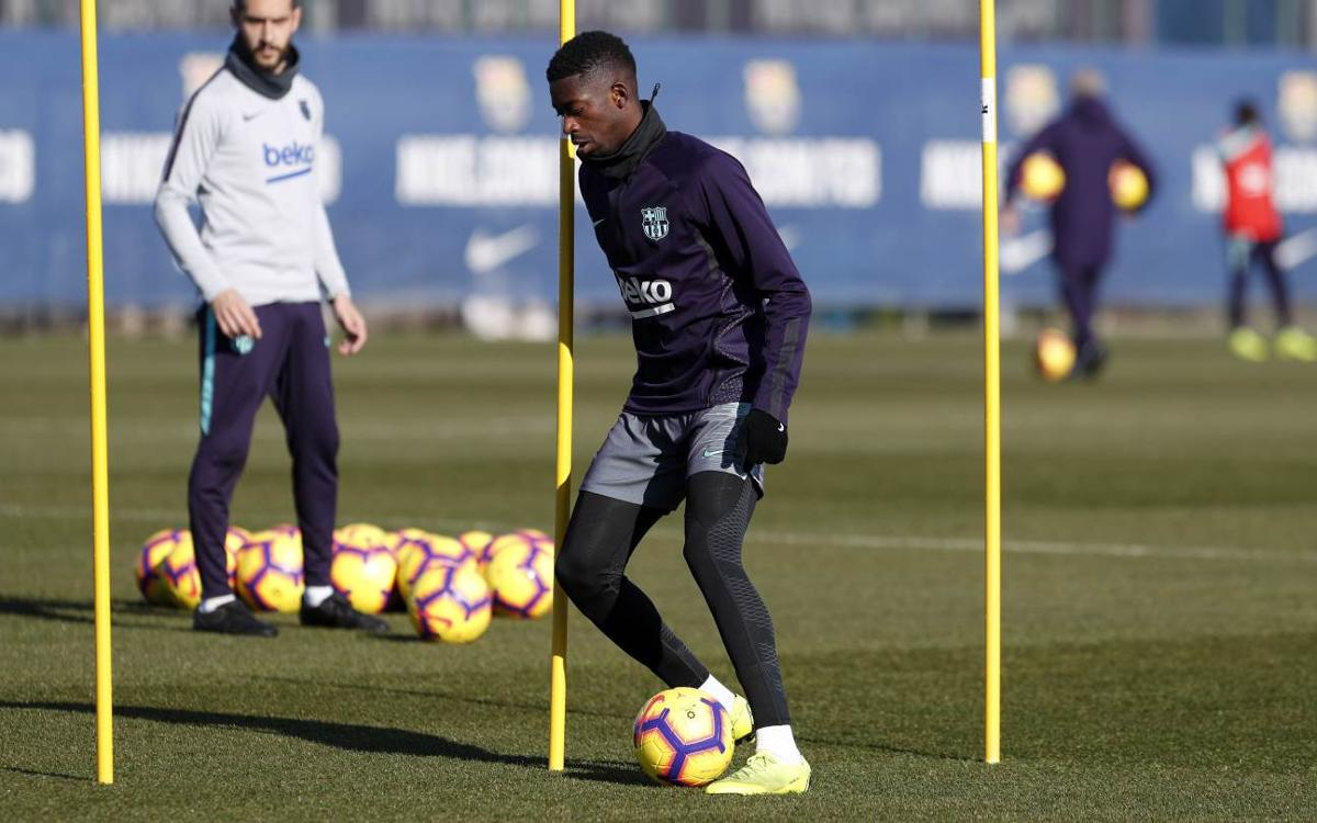 Thursday training with focus on Getafe