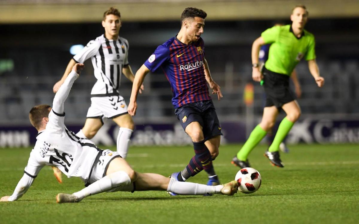 Barça B - CD Castellón: Empate agridulce para abrir en 2019 (1-1)
