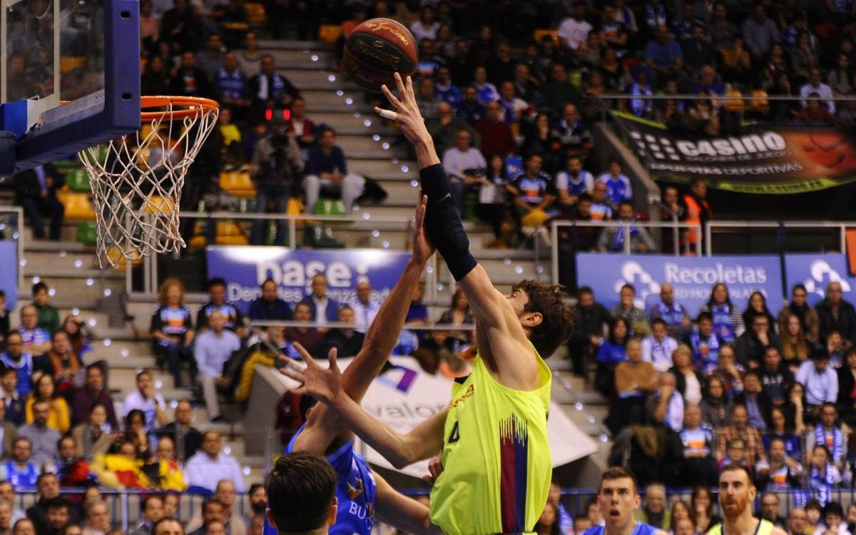 San Pablo Burgos 80-85 Barça Lassa: Gripping victory at the Coliseum