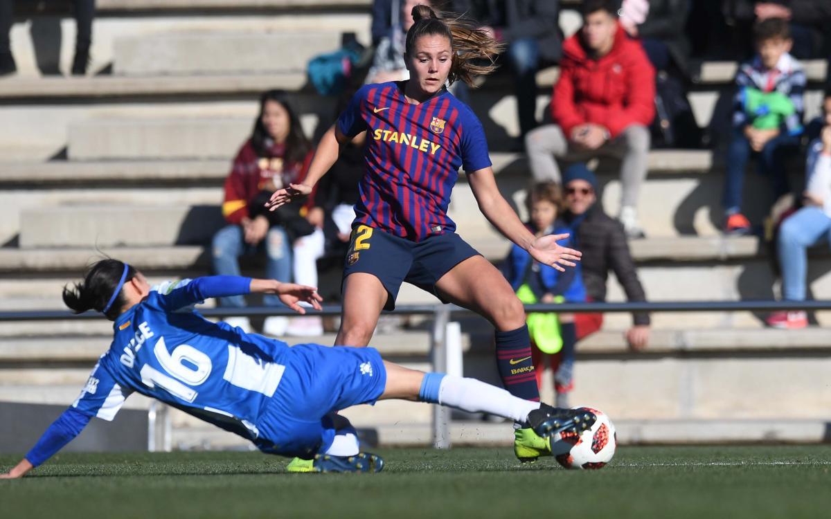 FC Barcelona Femenino - RCD Espanyol: Sin suerte (0-0)