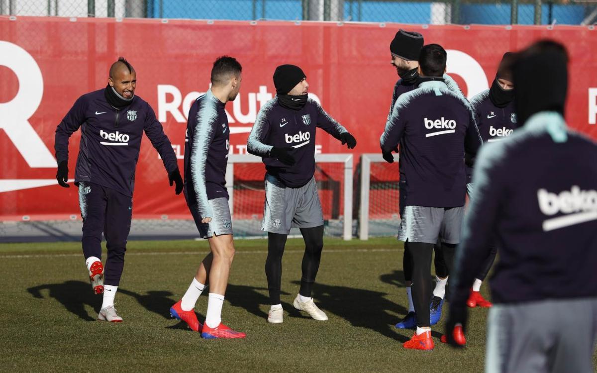 Training begins for Levante