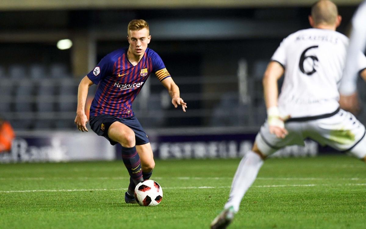 El Barça B ha ganado la posesión en todos sus partidos