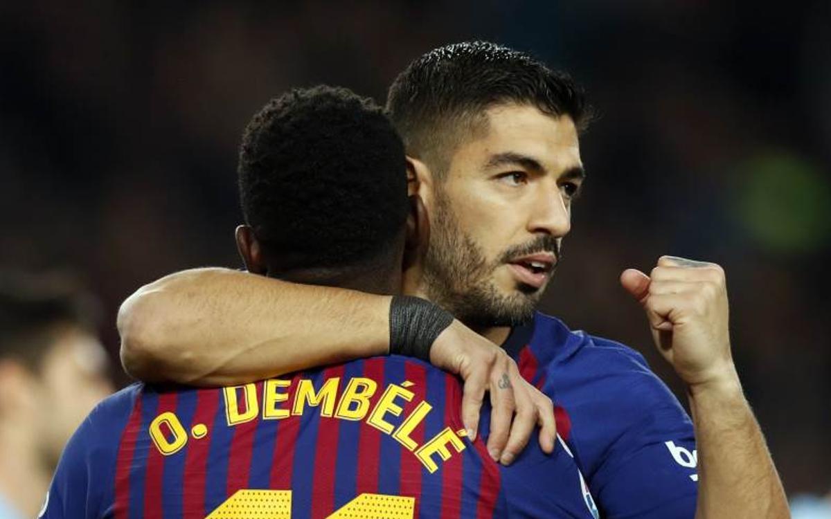 El Barça ha aixecat els sis últims 2-1 adversos a la Copa