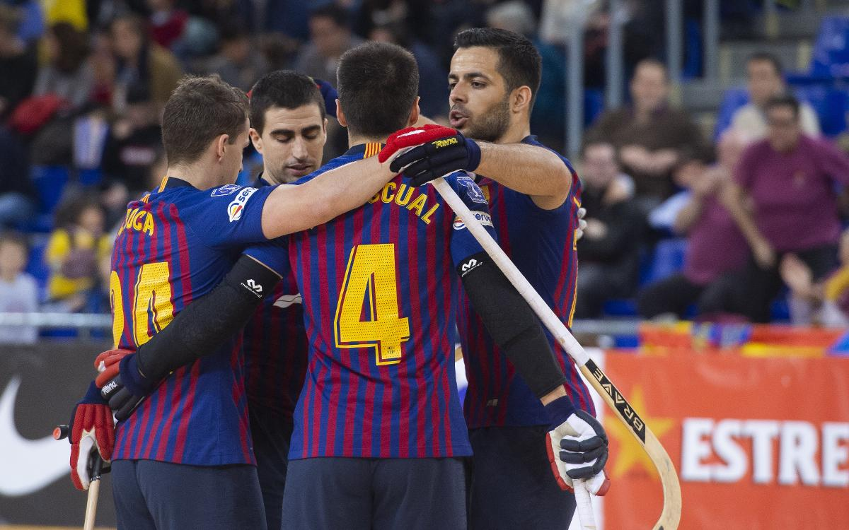 Barça Lassa 12-0 Alcobendas: Big win at halfway stage