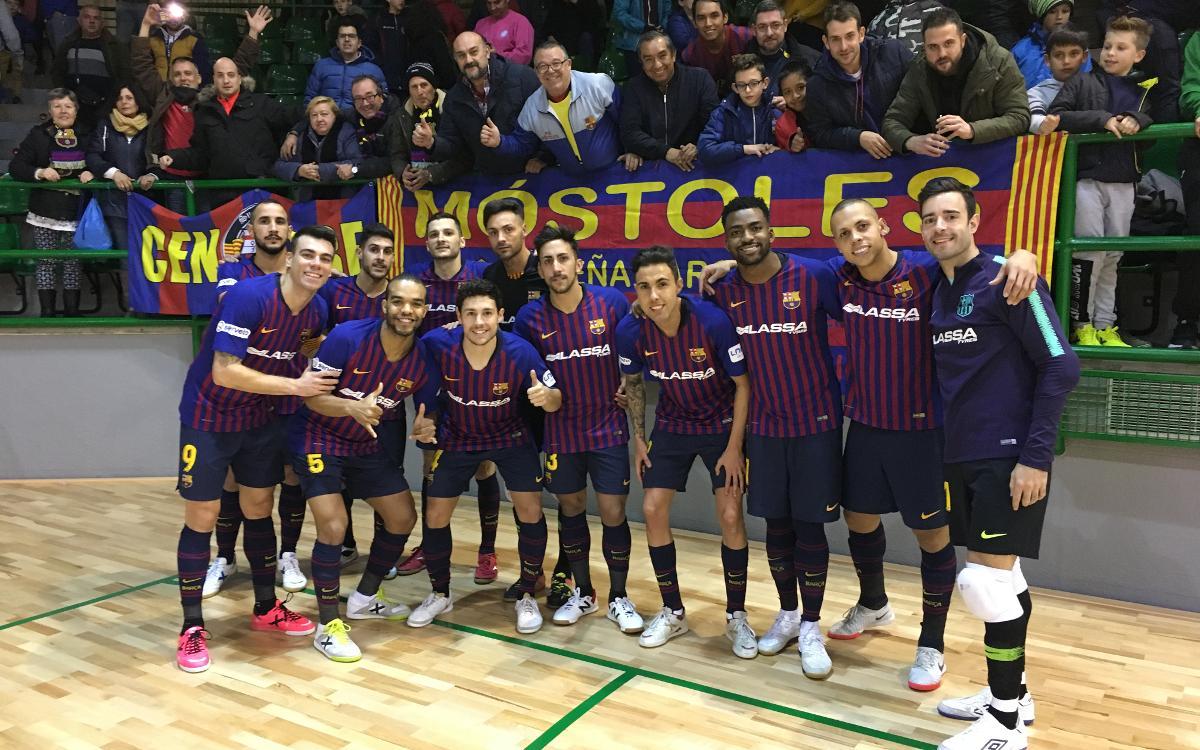 Naturpellet Segòvia 2-5 Barça Lassa: Top of the league