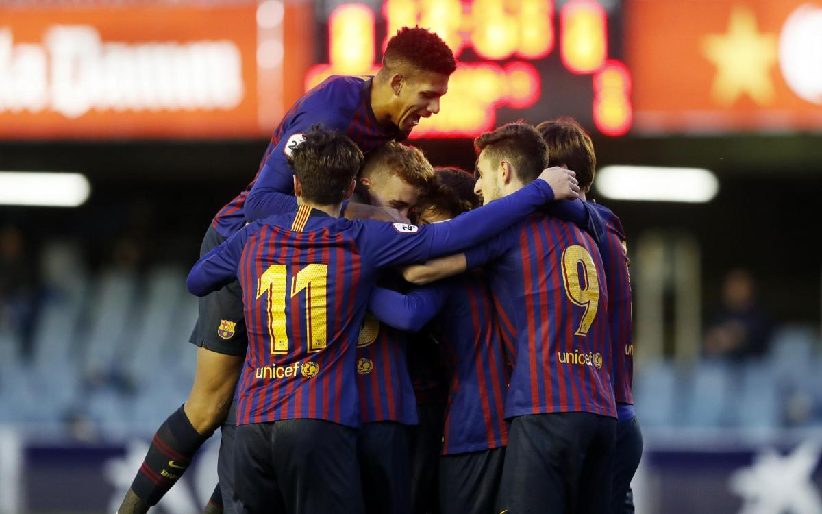Barça B 2-0 CD Alcoyano: First win of the year