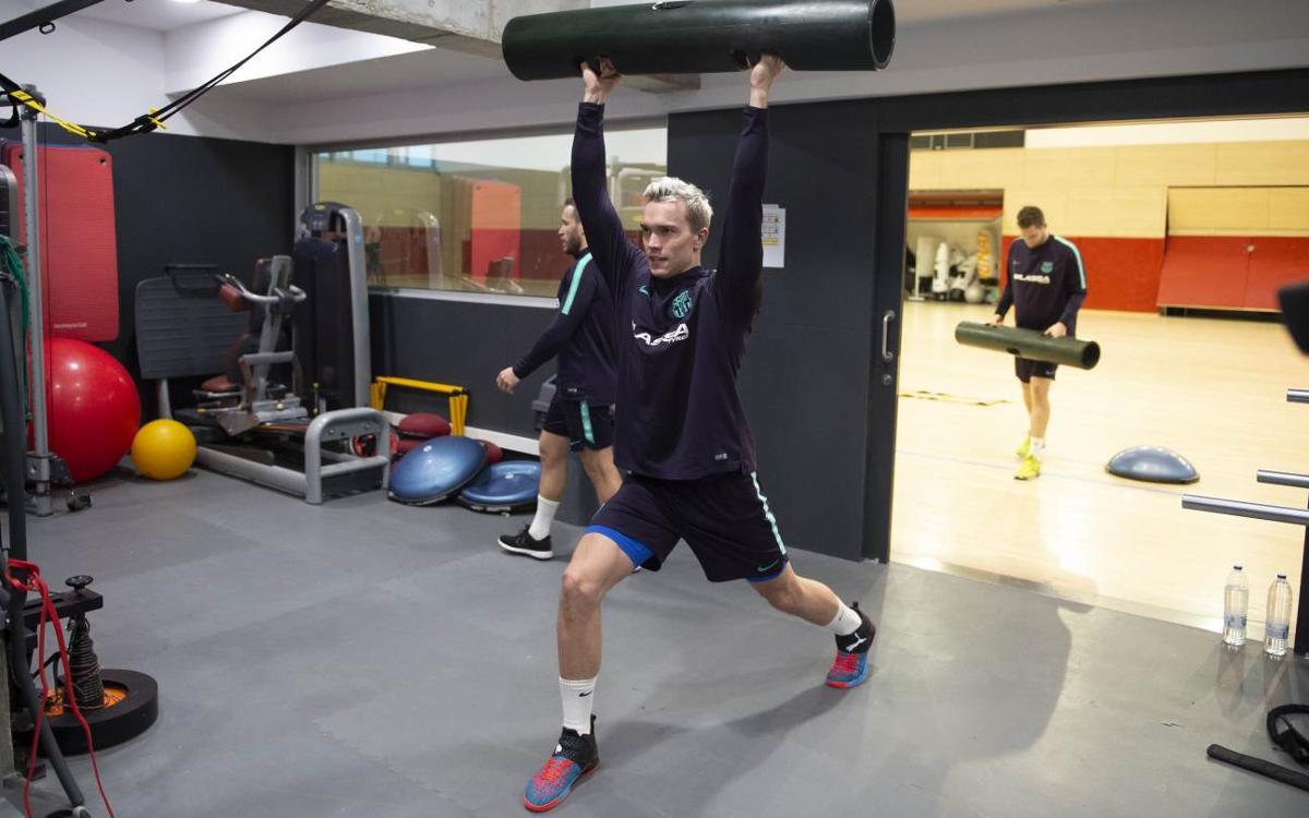 Tomás, Andersson y Möller vuelven a los entrenamientos