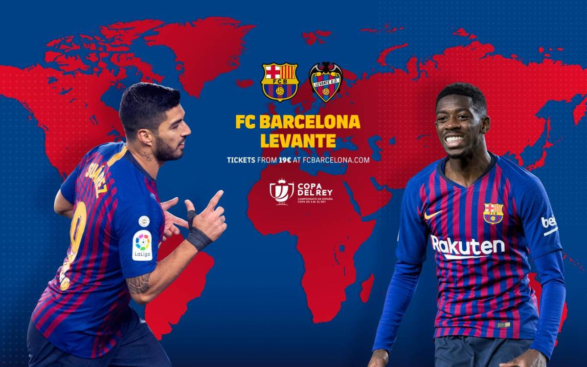 When and where to see FC Barcelona v Levante