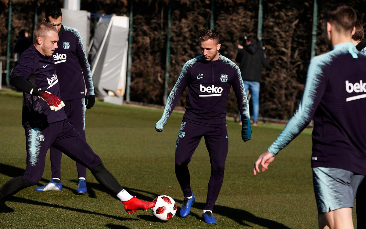 Focus back on Copa del Rey