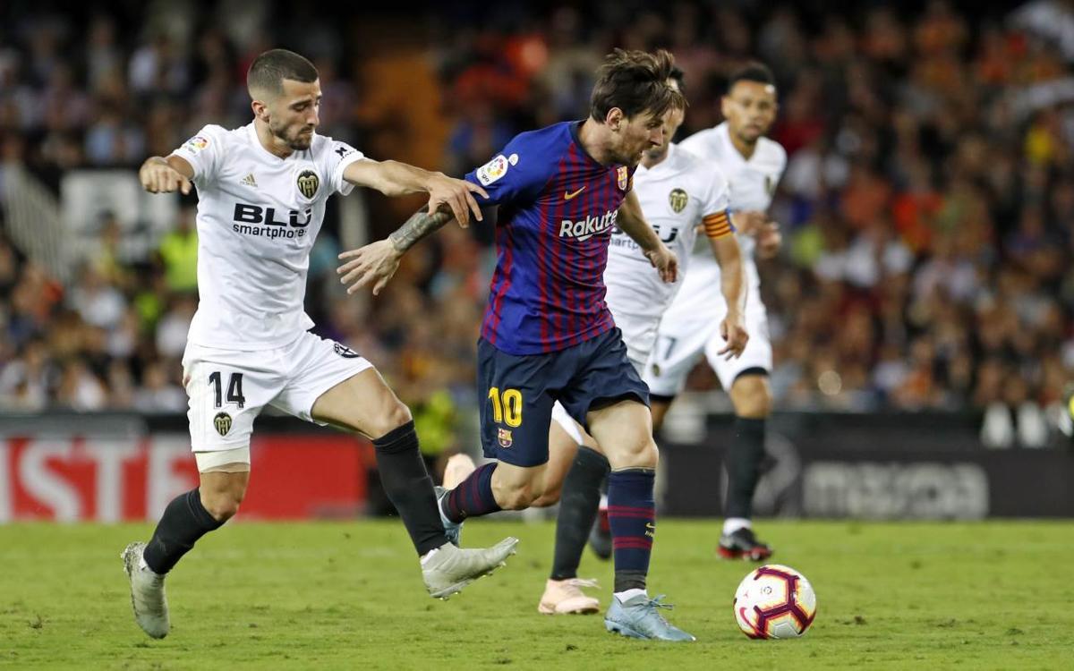 Kick-off time announced for Barça vs. Valencia