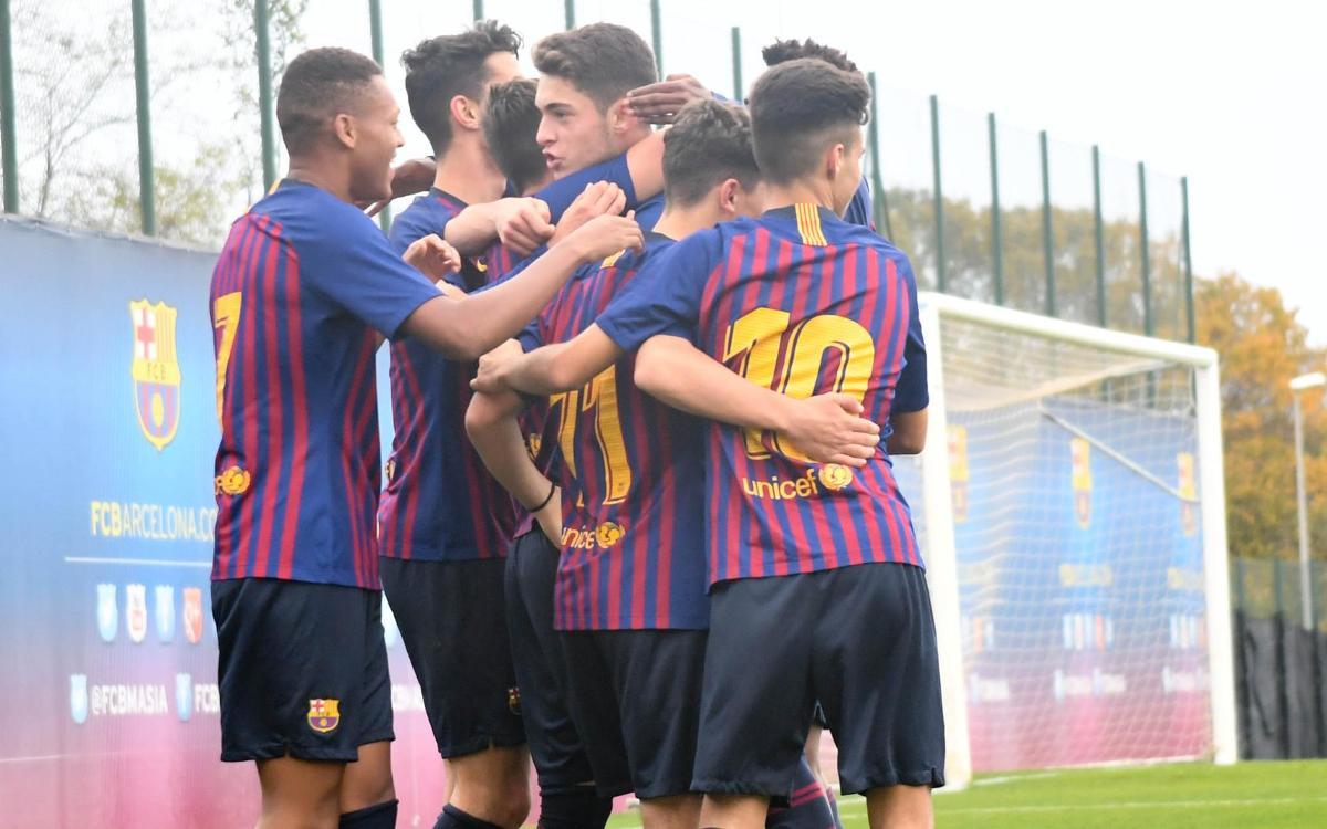 Badalona – Juvenil B: Eficàcia ofensiva a la segona meitat (0-3)