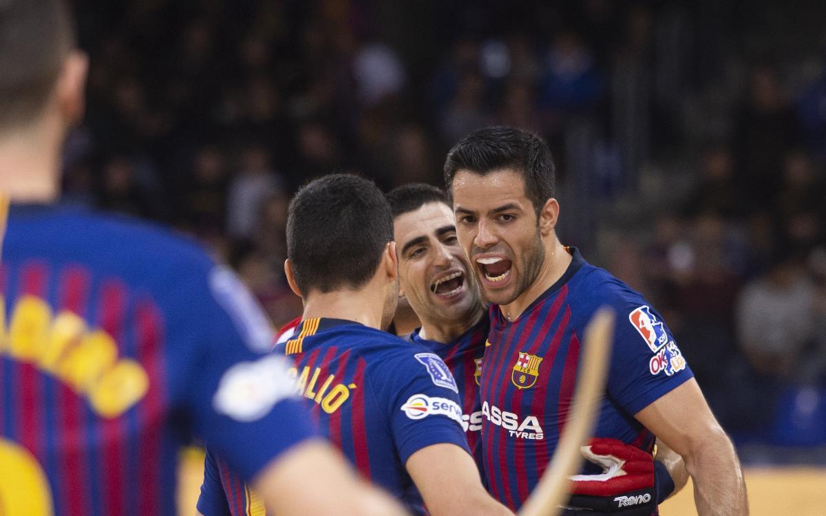 Barça Lassa – Oliveirense: Gran victòria en un festival golejador (7-6)
