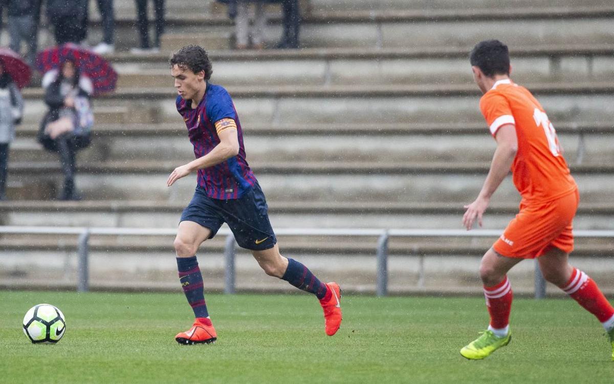 Juvenil A - Reus: Sin goles en la Ciudad Deportiva (0-0)