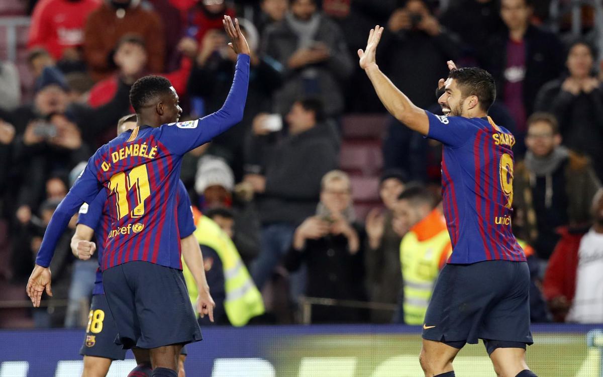 Barça – Leganés : Un trio magique (3-1)