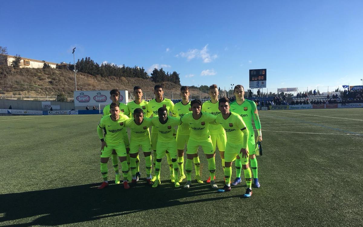 Ejea - Barça B: Topan con la defensa (1-0)