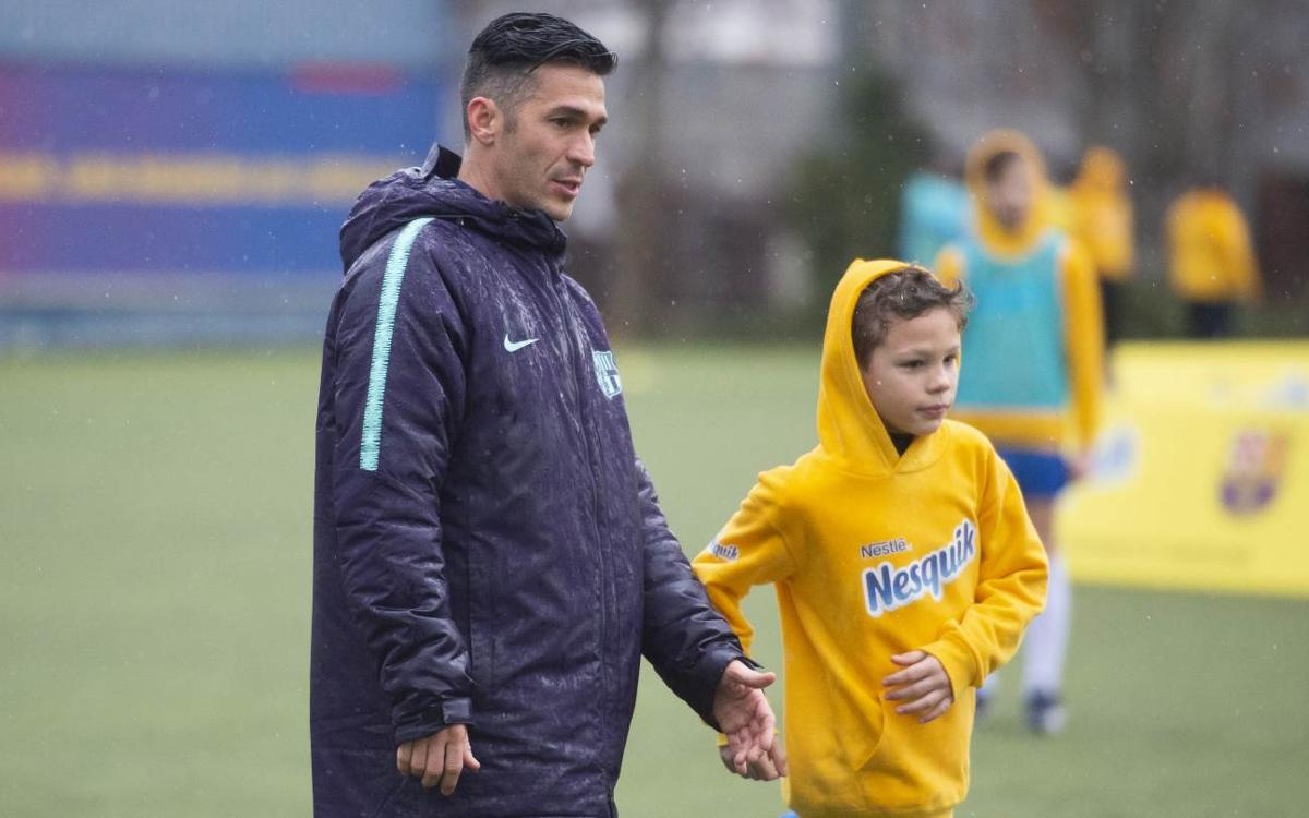Children from 11 countries enjoy unforgettable Barça experience
