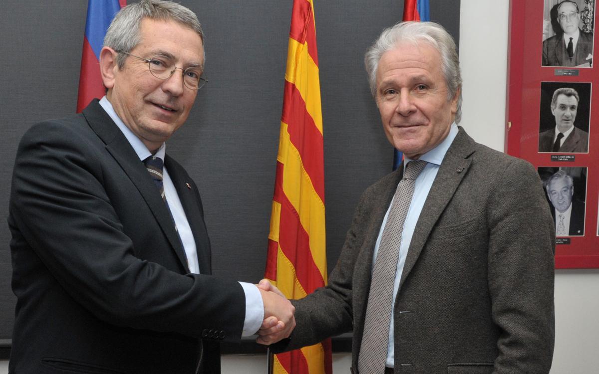 Ramon Alfonseda, proclamat oficialment president de l'Agrupació Barça Jugadors