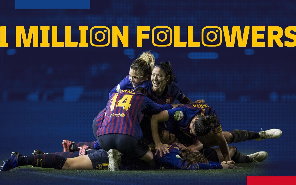 Rècord: Més d'un milió de seguidors a Instagram