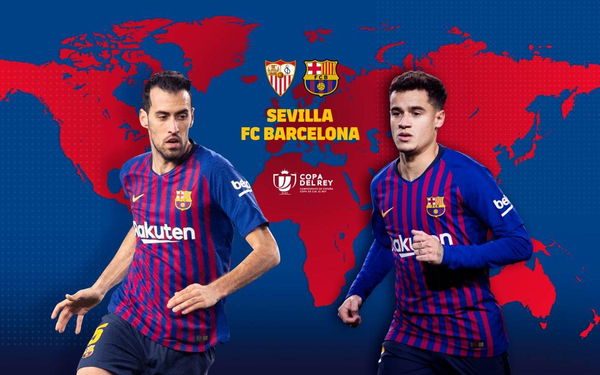 When and where to watch Sevilla - FC Barcelona