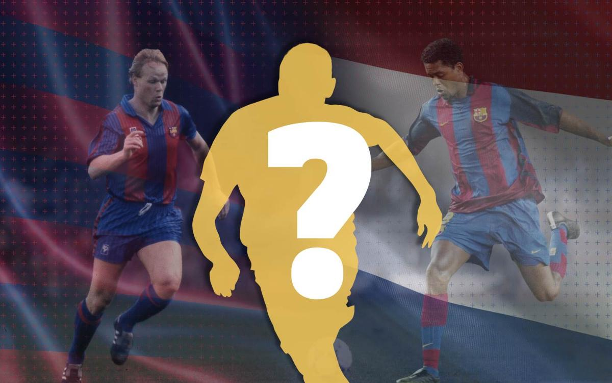 How well do you know Barça's Dutchmen?