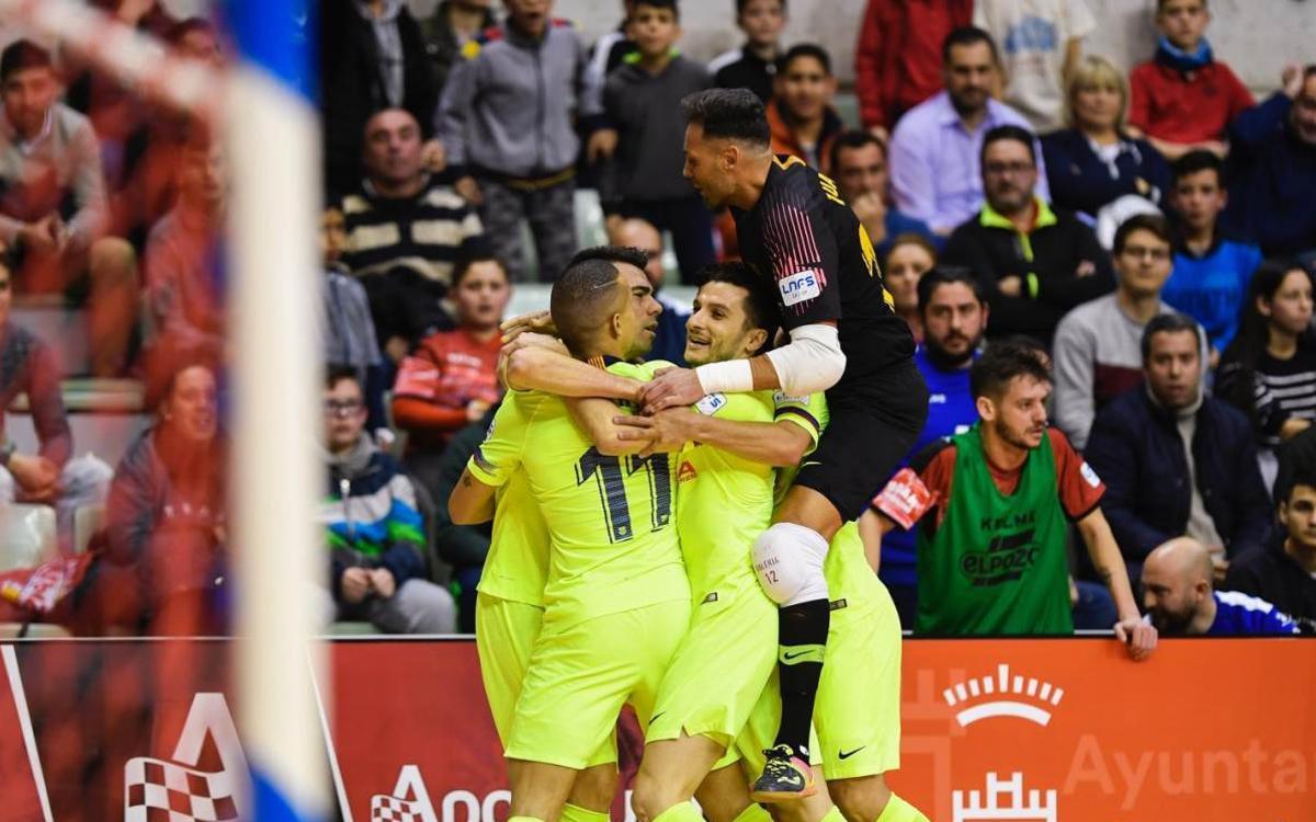 ElPozo Múrcia 2-2 Barça Lassa: Through on penalties!