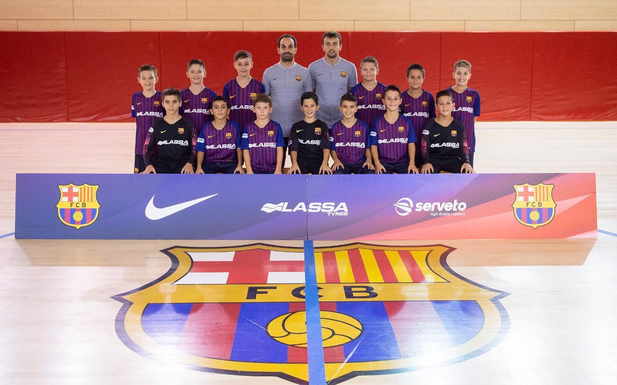 El alevín a la European Futsal Cup