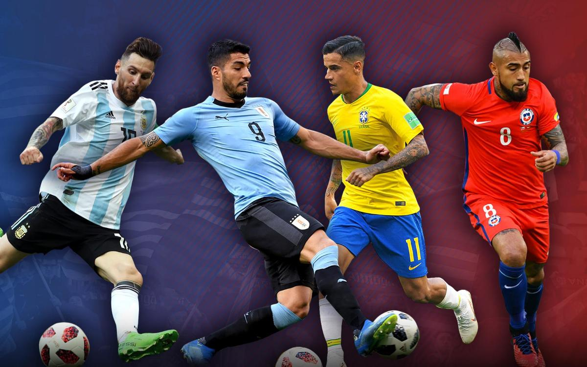 Copa America: Who plays who?